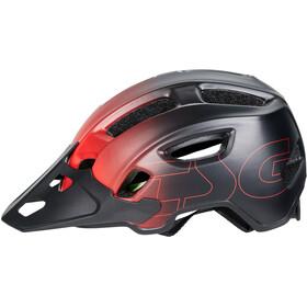 TSG Trailfox Graphic Design Helmet fade to red